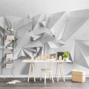 کاغذ دیواری در دکوراسیون