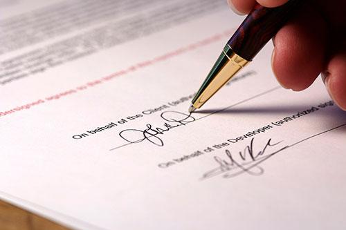 شزوط قرارداد