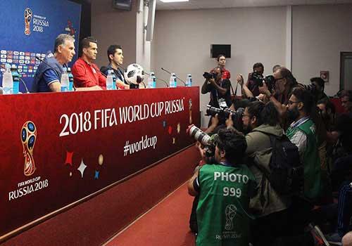 عکسهای تیم ملی قبل از بازی با پرتغال