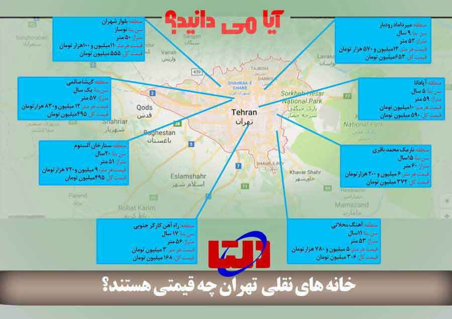 خانه کممتراژ تهران