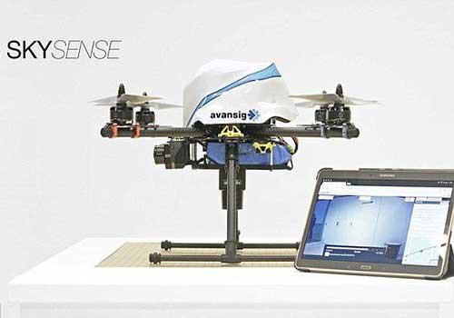دوربین پرنده برای ایمنی بیشتر ساختمانها