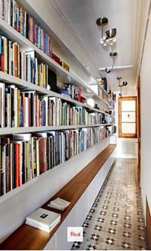 قفسه کتابخانه