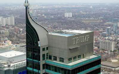 10- هتل بین المللی و برج ترامپ در تورنتو