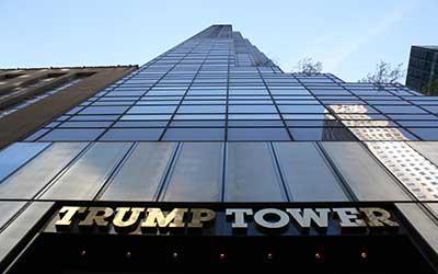 6- برج ترامپ در نیویورک