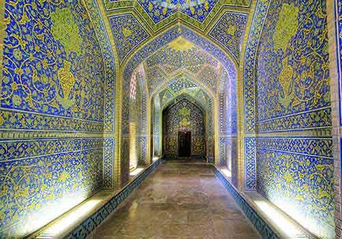 معماری مسجد شیخ لطف الله