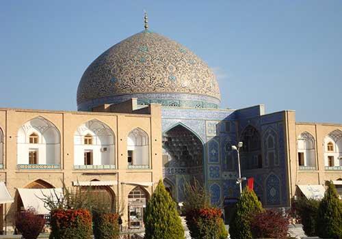 ساختمان مسجد شیخ لطف الله
