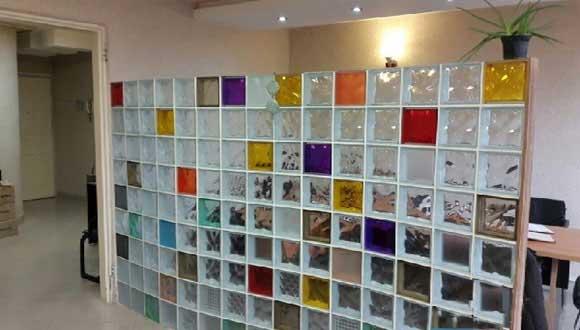 آجر شیشه ای ؛ خلاقیتی نو در صنعت ساختمان
