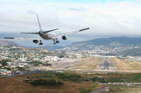 فرودگاه بینالمللی تونکونتین، هندوراس