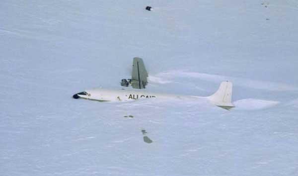 باند فرود یخی، قطب جنوب