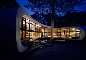 ساختمان صدف، معماری آیندهنگر