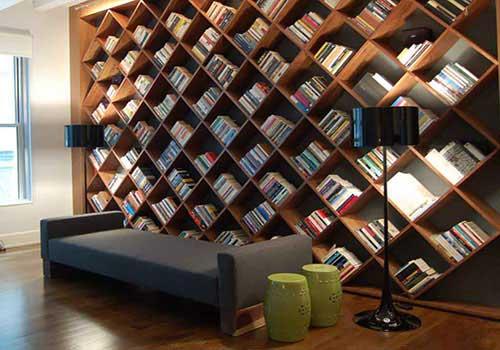 کتابخانه منزل