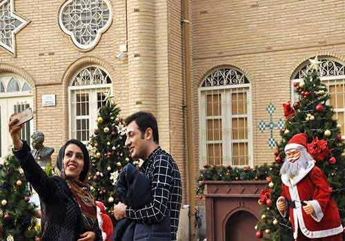 جشن کریسمس ایرانی ها