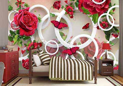 کاغذ دیواری مناسب با خانه