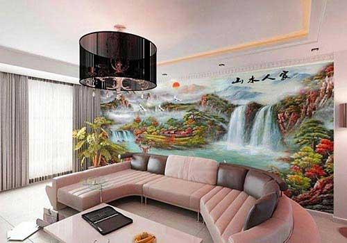 کاغذ دیواری تابلوی نقاشی