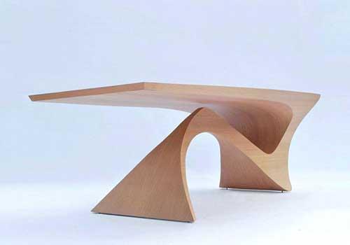 میز جلوی مبل مدرن چوبی