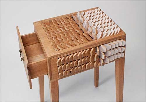 میز کشودار مدرن