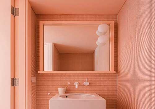رنگ سال 2019 حمام