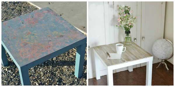 رنگ میز