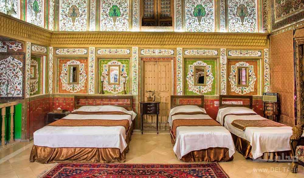 اتاق های خانه ملک التجار