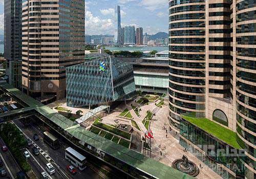 ساختمان جالب هنگ کنگ