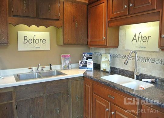 بازسازی کابینت آشپزخانه