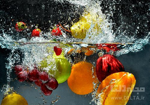 میوه ها و سبزیجات غیر ارگانیک