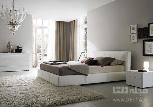اتاق خواب مینیمالیسم