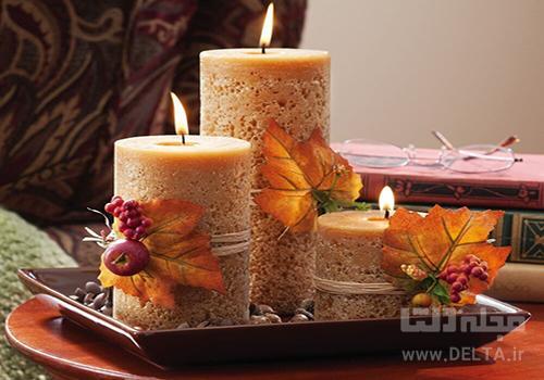 شمع در دکوراسیون