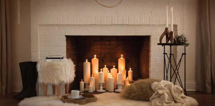 شمع های عطر آگین