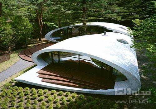 خانه صدفی ژاپن