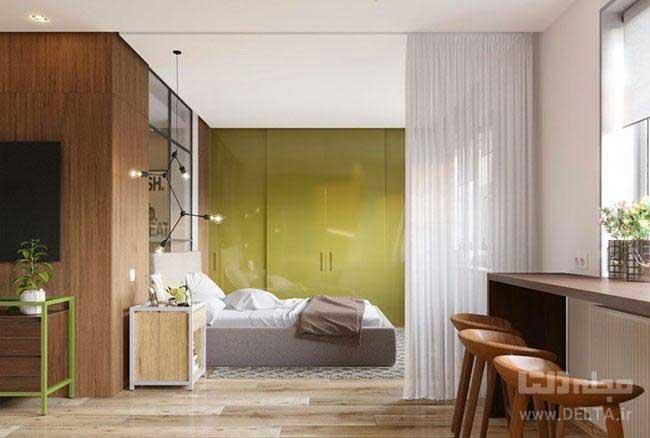 اتاق خواب خانه 50 متری