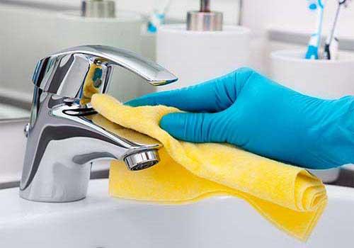 تمیز کردن سینک