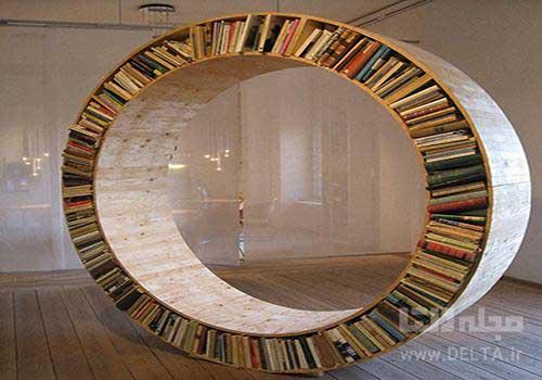 کتابخانه مدرن دایره