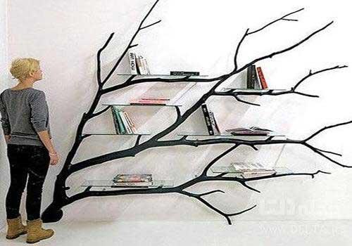 کتابخانه مدرن درختی