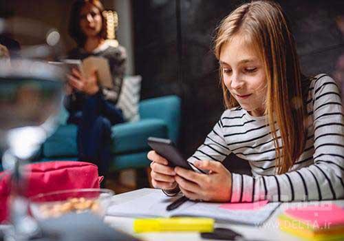 تلفن همراه و کودک