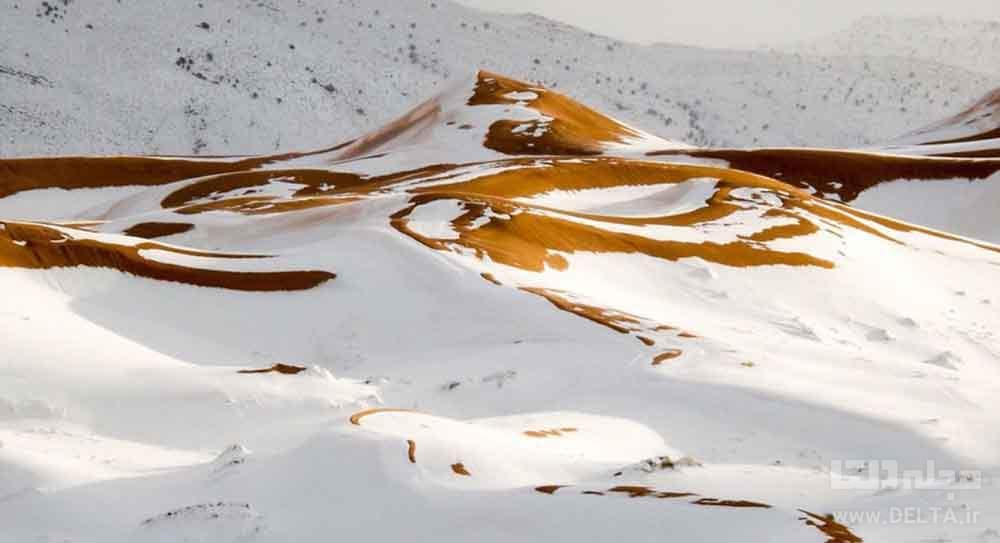 برف در کویر