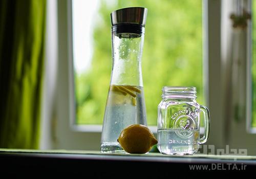 آب و لیمو مناسب برای لاغری