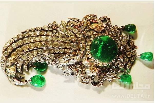 جقه نادری موزه جواهرات ملی
