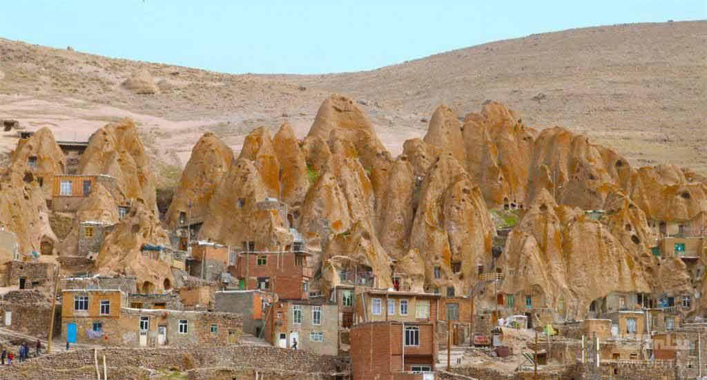 معماری روستای کندوان