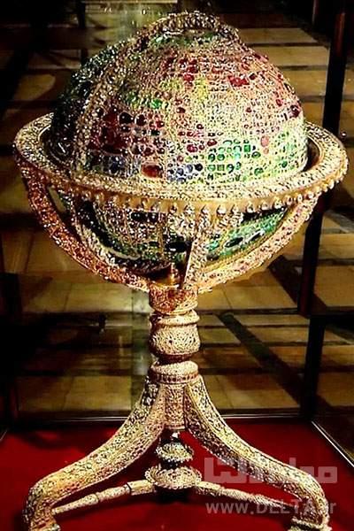 کره جواهرنشان موزه جواهرات ملی