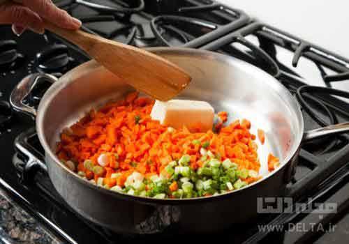 گرم کردن غذا