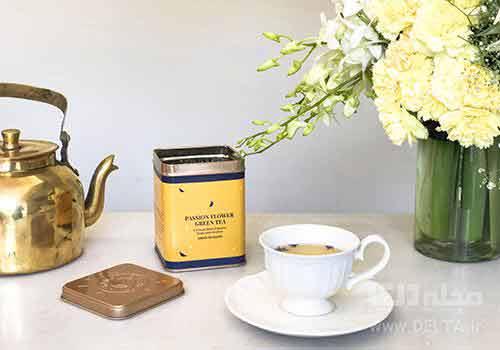 چای گل ساعتی برای درمان استرس و اضطراب