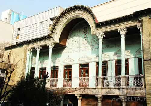 معماری خانه انیسالدوله