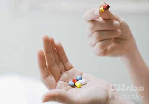 مصرف مولتی ویتامین ها