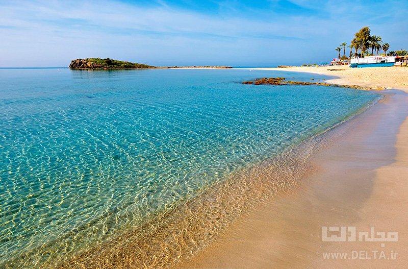 ساحل نیسی جاهای دیدنی قبرس
