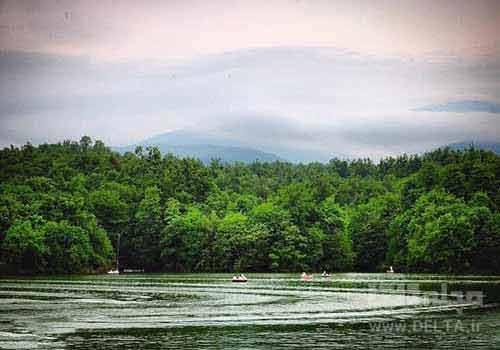 دریاچه الیمالات چمستان