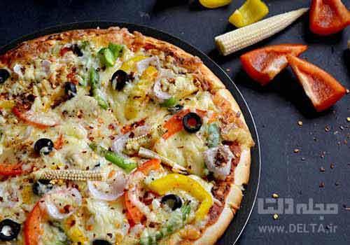 طرز تهیه پیتزا