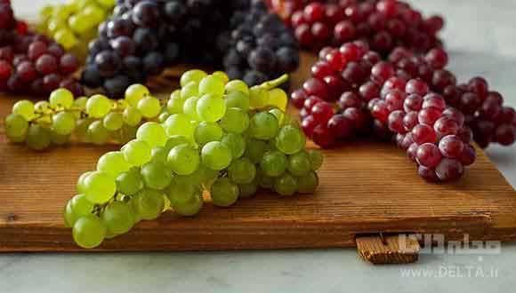 ارزش غذایی و خواص انگور
