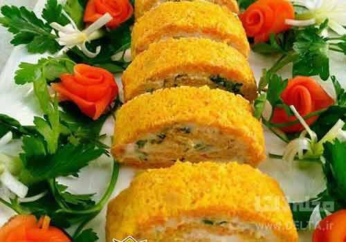 طرز تهیه رول هویج