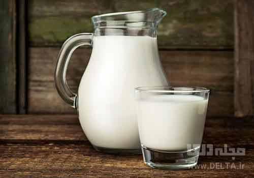 خواص نوشیدن شیر